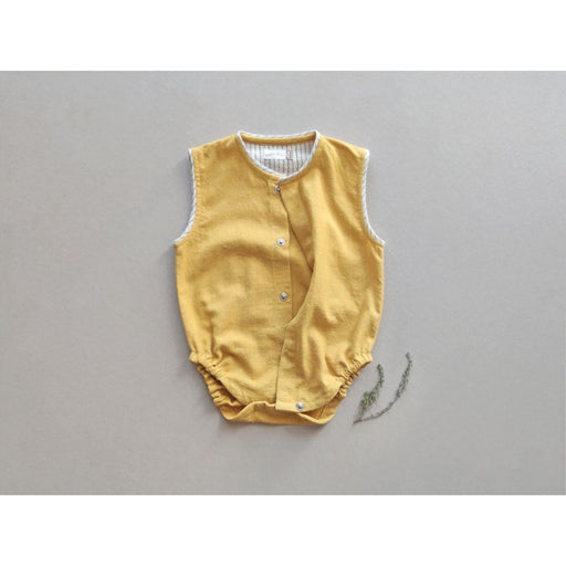 The Nestery : Aagghhoo - Earth Yellow Baby Onesie