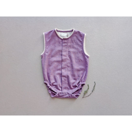 The Nestery : Aagghhoo - Orchid Purple Baby Onesie