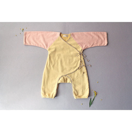 The Nestery: Aagghhoo - Warm Snuggle Winter Bodysuit - Yellow