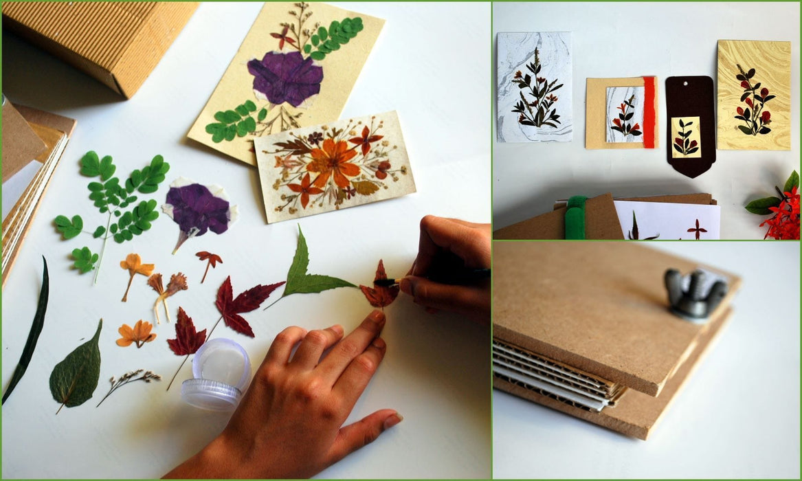 The Nestery: Active Hands - Diy Kits - Dried Press Flower