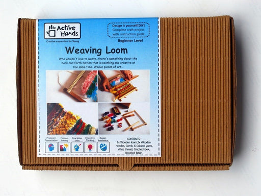The Nestery: Active Hands - Diy Kits - Weaving Loom