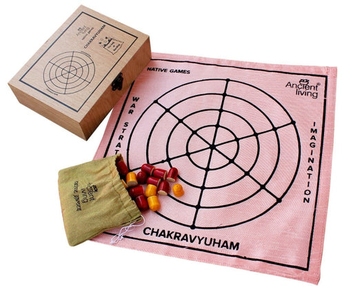 The Nestery : Ancient Living - Chakravyuham - Board Game (Raw Silk)