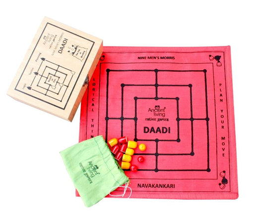 The Nestery : Ancient Living - Daadi - Board Game (Raw Silk)