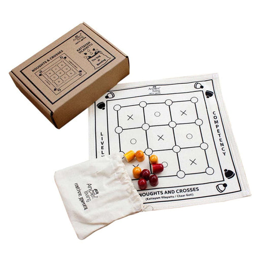 The Nestery : Ancient Living - Noughts And Crosses - Board Game