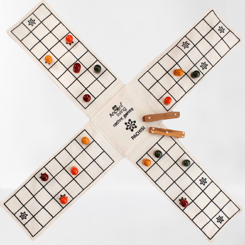 The Nestery : Ancient Living - Pachisi Ludo - Board Game