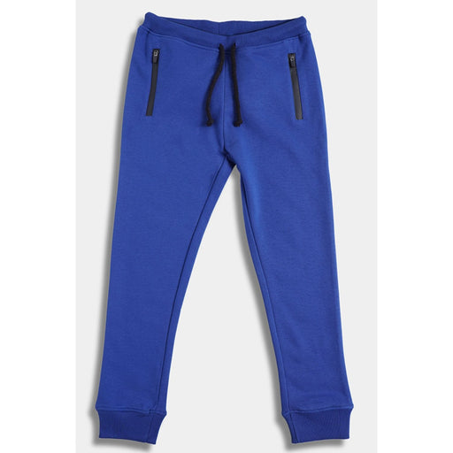 The Nestery : Anthrilo - Blue Sporty Jogging Trousers