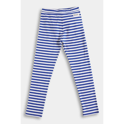 The Nestery  : Anthrilo - Blue Stripe Knit Leggings