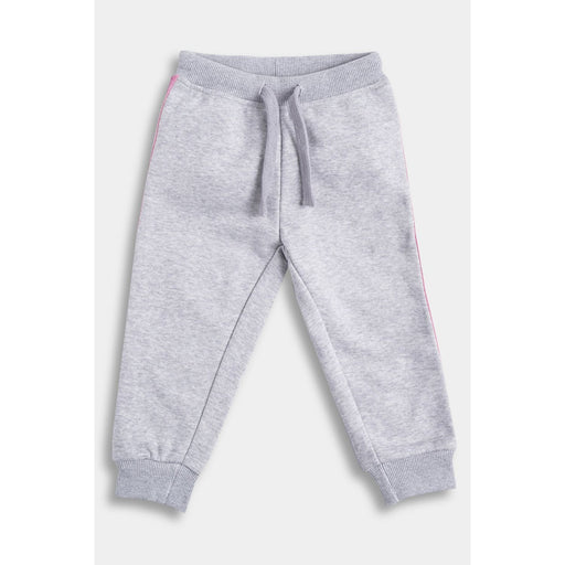 The Nestery  : Anthrilo - Grey Marl Side Tape Jogger