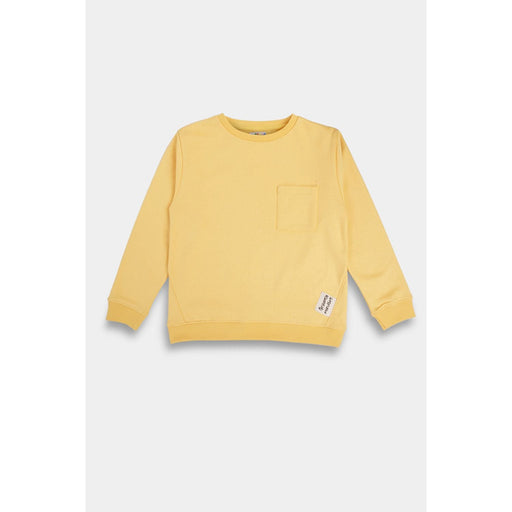 The Nestery : Anthrilo - Yellow Pocket Sweatshirt