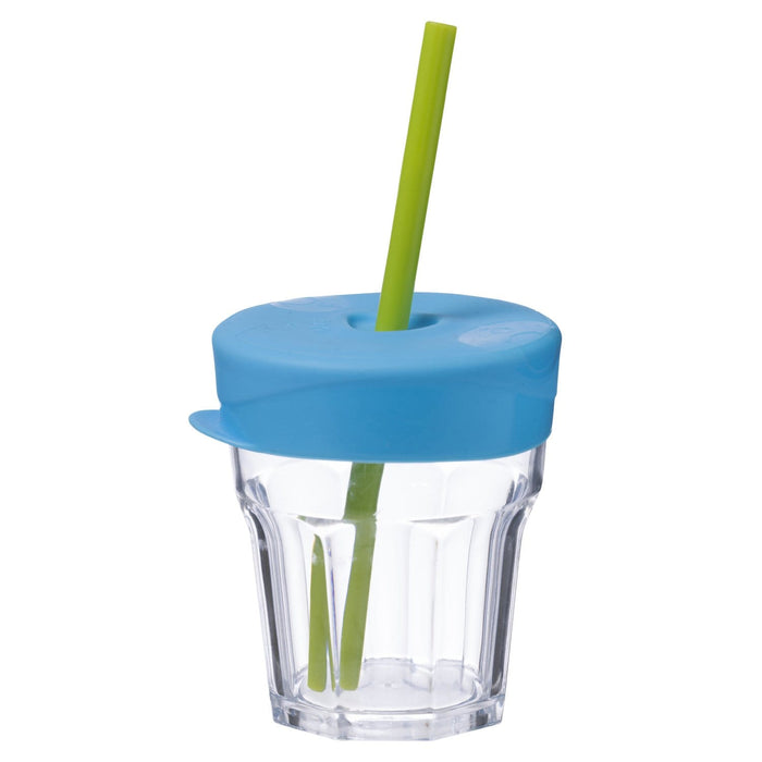The Nestery : b.box - Universal Silicone Lid & Straw Travel Pack - Ocean Breeze Blue Green
