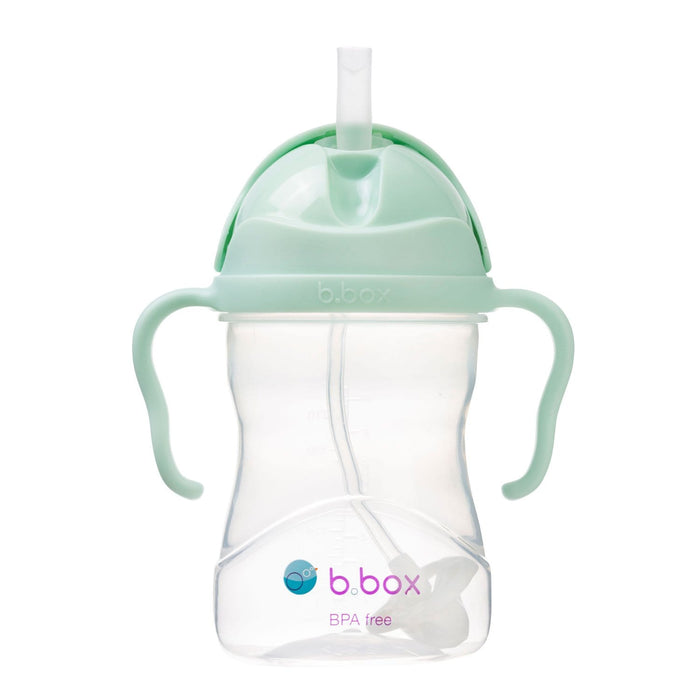 The Nestery : b.box - Weighted Straw Sippy Cup 240 Ml - Pistachio Light Green