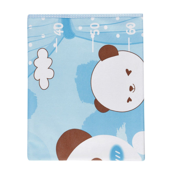 The Nestery : Baby Moo - Bff Bear Light Blue - Washable Mat