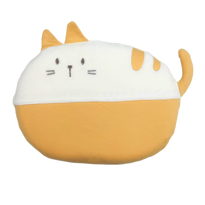 The Nestery : Baby Moo - Cat Yellow - Memory Pillow
