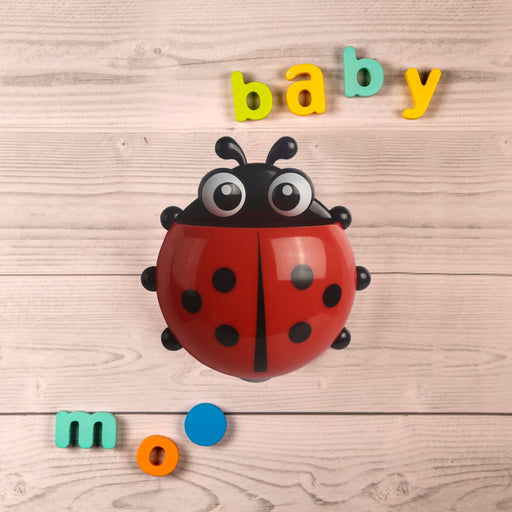 The Nestery : Baby Moo - Ladybug Red - Toothbrush Holder