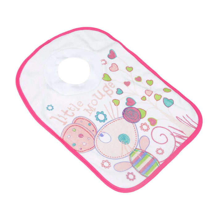 The Nestery : Baby Moo - Litte Mouse Pink - Bibs