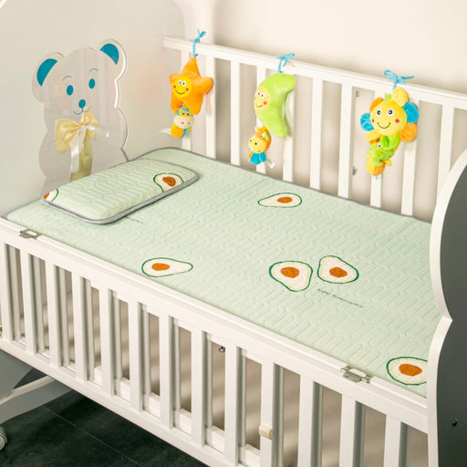 The Nestery : Baby Moo - You Are All I Avo Wanted Green - Washable Mat With Pillow