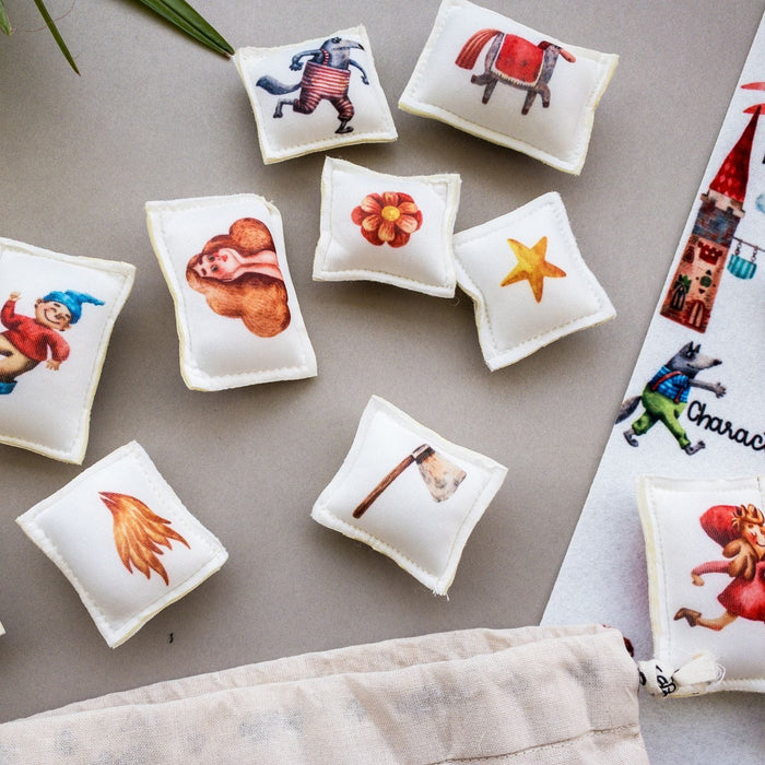 The Nestery : Berry Bee - Story Pillows - Mixed Up Fairytale
