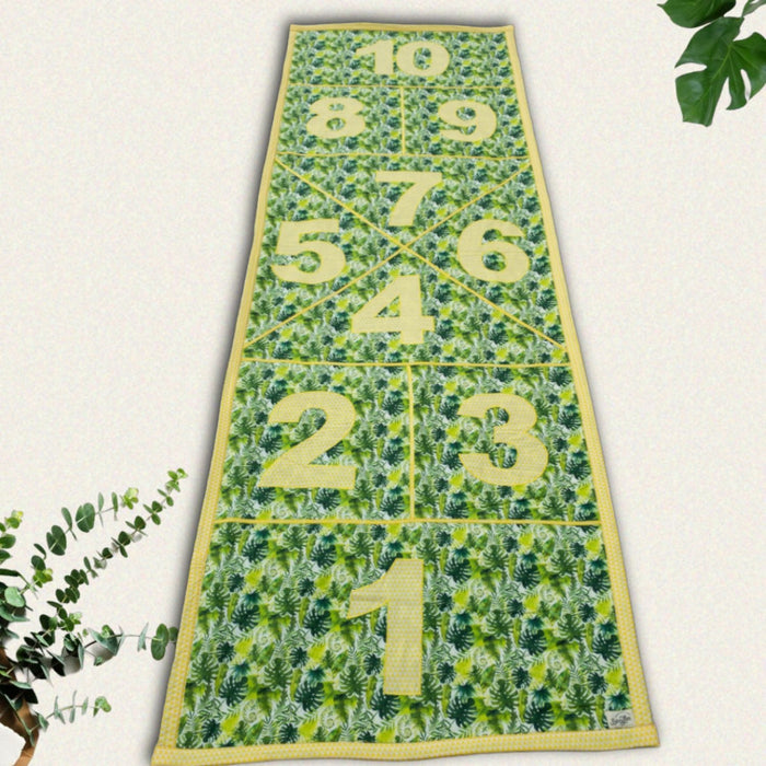 Tropical Hopscotch Mat