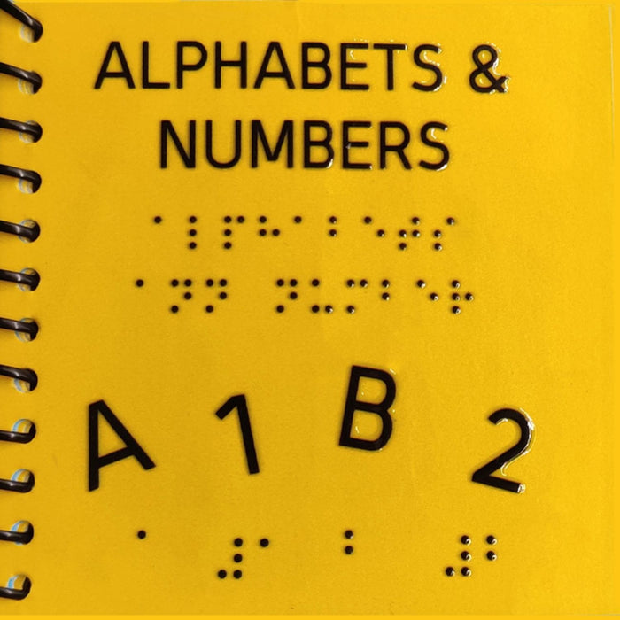 The Nestery: Beyond Braille - Alphabet & Number (English)