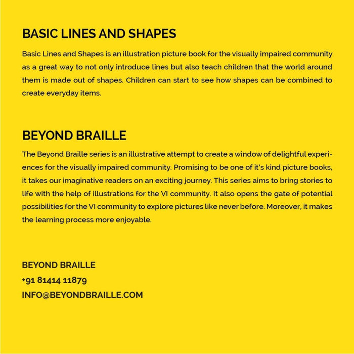 The Nestery: Beyond Braille - Basic Lines & Shapes