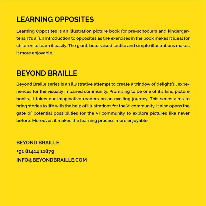 The Nestery: Beyond Braille - Learning Opposites