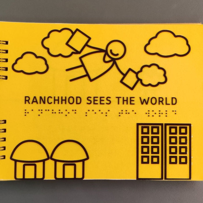 The Nestery: Beyond Braille - Ranchhod Sees The World