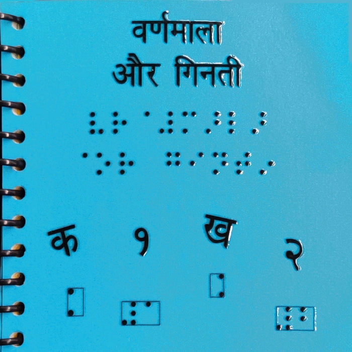 The Nestery: Beyond Braille - Varnamala & Number (Hindi)