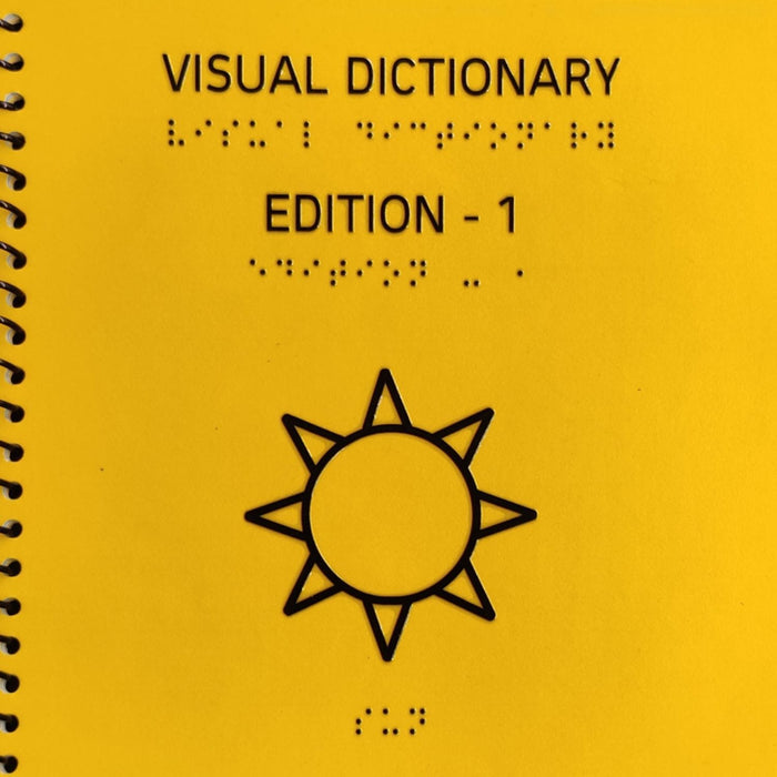 The Nestery: Beyond Braille - Visual Dictionary Edition-1