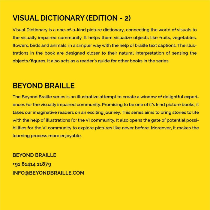 The Nestery: Beyond Braille - Visual Dictionary Edition-2