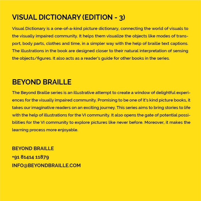 The Nestery: Beyond Braille - Visual Dictionary Edition-3