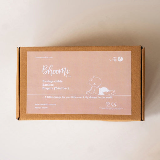 The Nestery : Bhoomi & Co - Diapers (Small) - Trial Pack Box