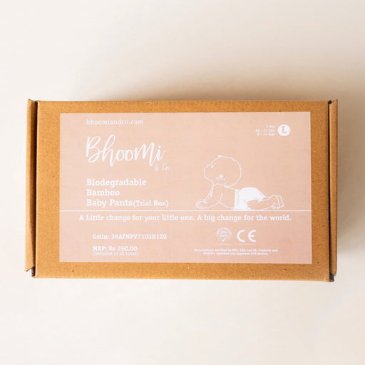 The Nestery : Bhoomi & Co - Pants (Large) - Trial Pack Box