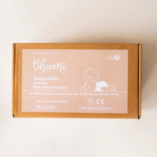 The Nestery : Bhoomi & Co - Pants (Medium) - Trial Pack Box