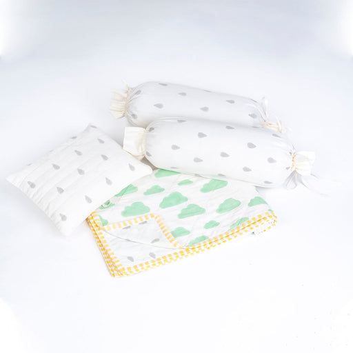 The Nestery : Block Hop - Infant Bedding Set - Clouds