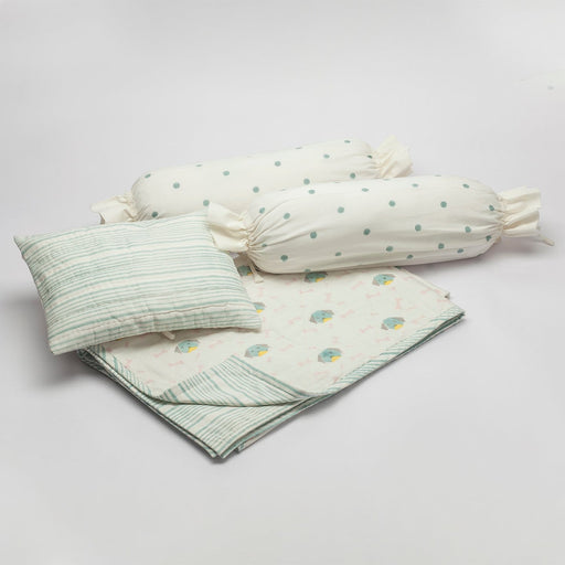 The Nestery : Block Hop - Infant Bedding Set - Hachiko