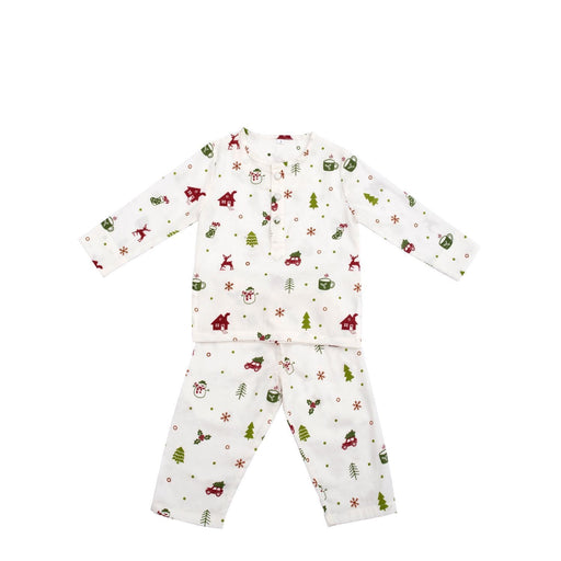 The Nestery : Block Hop - Organic Christmas Snuggle Pj'S (Kids)