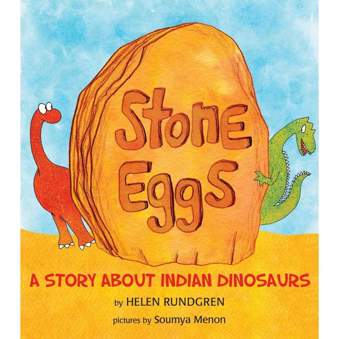 THE NESTERY: LITTLE DINO LOVERS - STONE EGGS