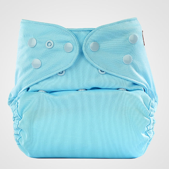 The Nestery: Bumberry - Baby'S Suede Sleeper - Baby Blue