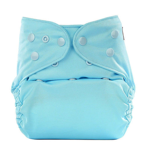 The Nestery: Bumberry - Diaper Cover - Baby Blue + 1 Natural Bamboo Cotton Insert