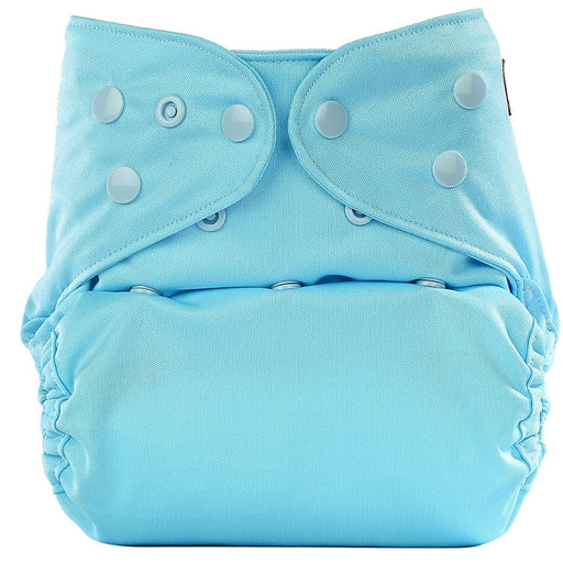 The Nestery: Bumberry - Diaper Cover - Baby Blue + 2 Wet Free Inserts