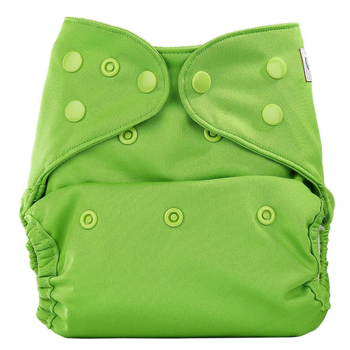 The Nestery: Bumberry - Diaper Cover - Deep Green + 2 Wet Free Inserts