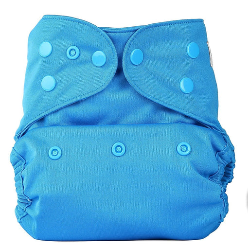 The Nestery: Bumberry - Diaper Cover - Oceanic Blue + 2 Wet Free Inserts