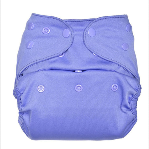 The Nestery: Bumberry - Pocket Diaper - Lavender + 1 Microfiber Insert