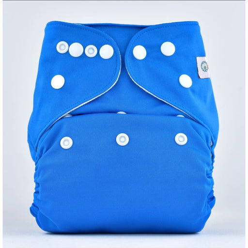 The Nestery: Bumberry - Pocket Diaper - Oceanic Blue + 1 Microfiber Insert