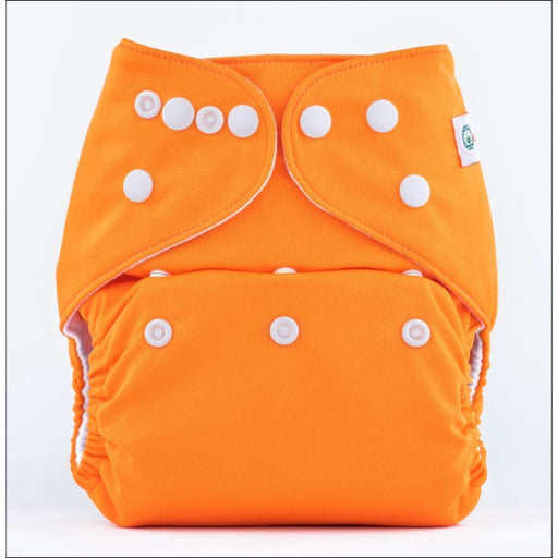 The Nestery: Bumberry - Pocket Diaper - Scarlet + 1 Microfiber Insert
