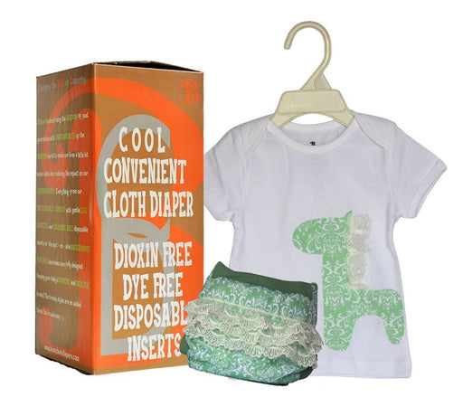 The Nestery: Bumchum - Bdiaper Hybrid Cover + T Shirt With Disposable Insert - Sophie