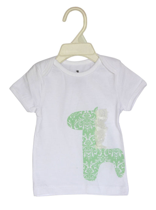 The Nestery: Bumchum - T Shirt - Print & Lace Sophie