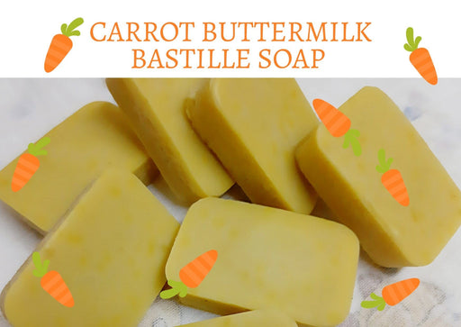 CARROT BUTTERMILK BASTILLE SOAP