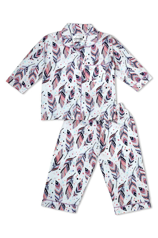 The Nestery: Chirpy Bazaar - Nightsuit - Ethnic Feathers