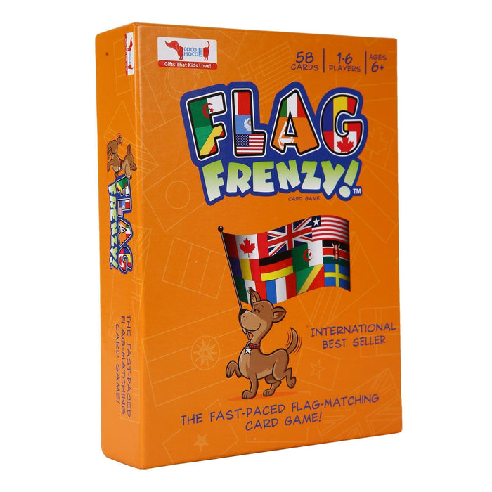 The Nestery: Cocomoco Kids - COMBO OF 5 - FLAG FRENZY (FLAGS AND MAP GAME)